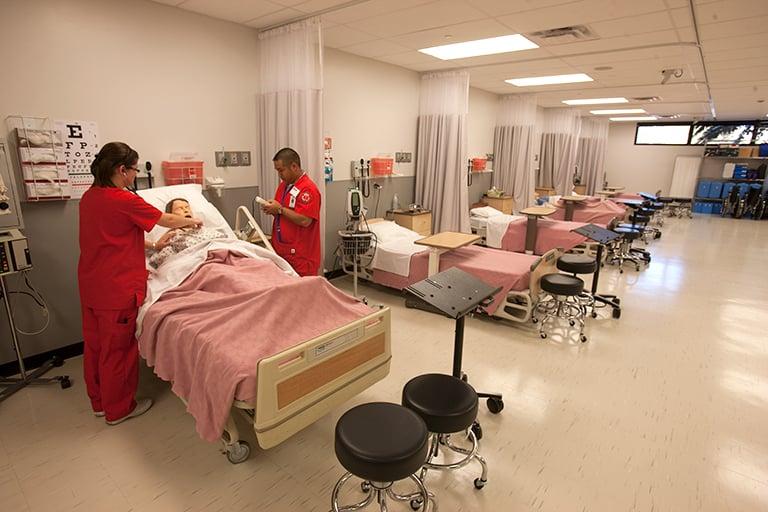medical simulation center