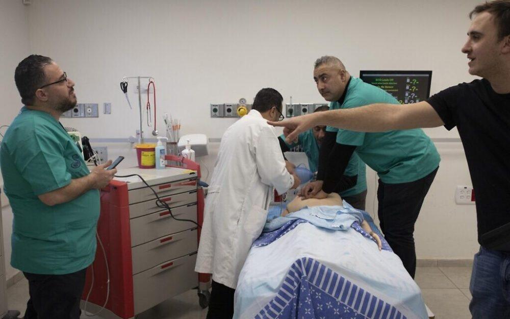 Palestinian Israeli Healthcare Simulation