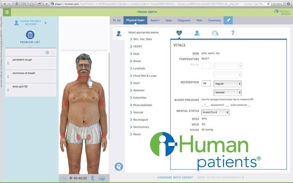 i-Human Patients