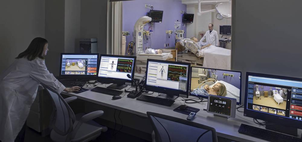 medical simulation av recording debriefing systems