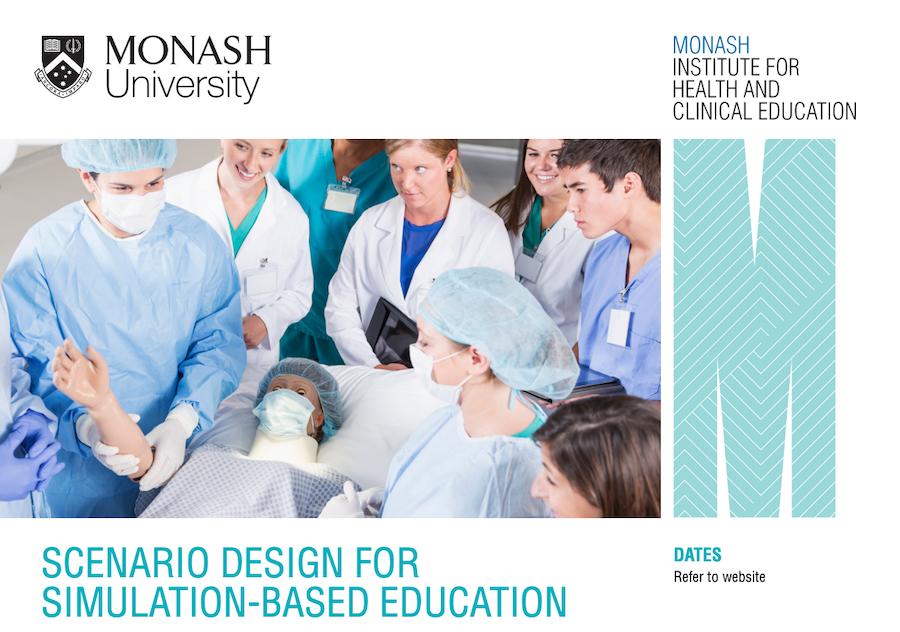 healthcare simulation scenario design