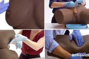 Dark Skin Nursing Skills Task Trainers