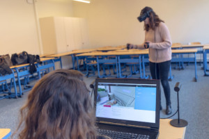 VR Training for Nursing Students