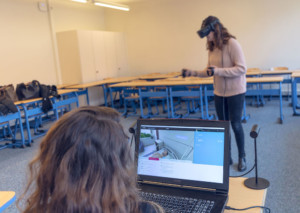 VR Training for Nursing Students