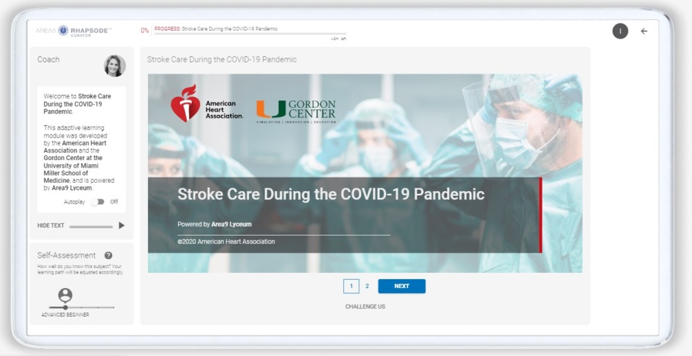 Gordon Center Stroke Care