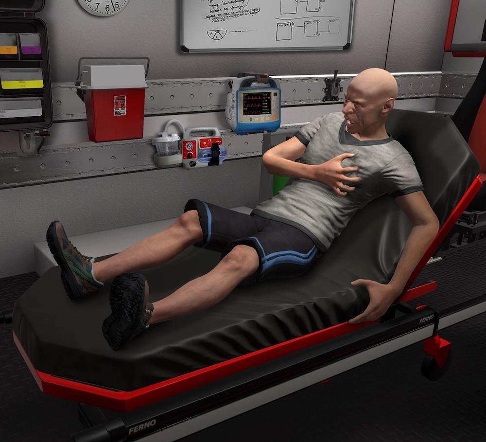 Virtual Reality: Prehospital EMS