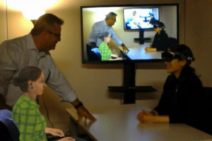 Stanford & UCF Study Finds Learners Avoid Collisions with Virtual Humans in Augmented Reality