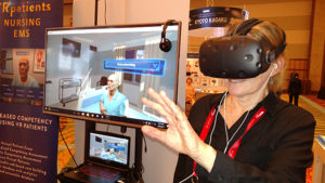 Virtual Reality in Nursing Education - A Look at VES Available Through Pocket Nurse