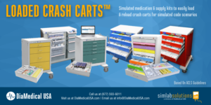 Loaded Crash Carts from DiaMedical